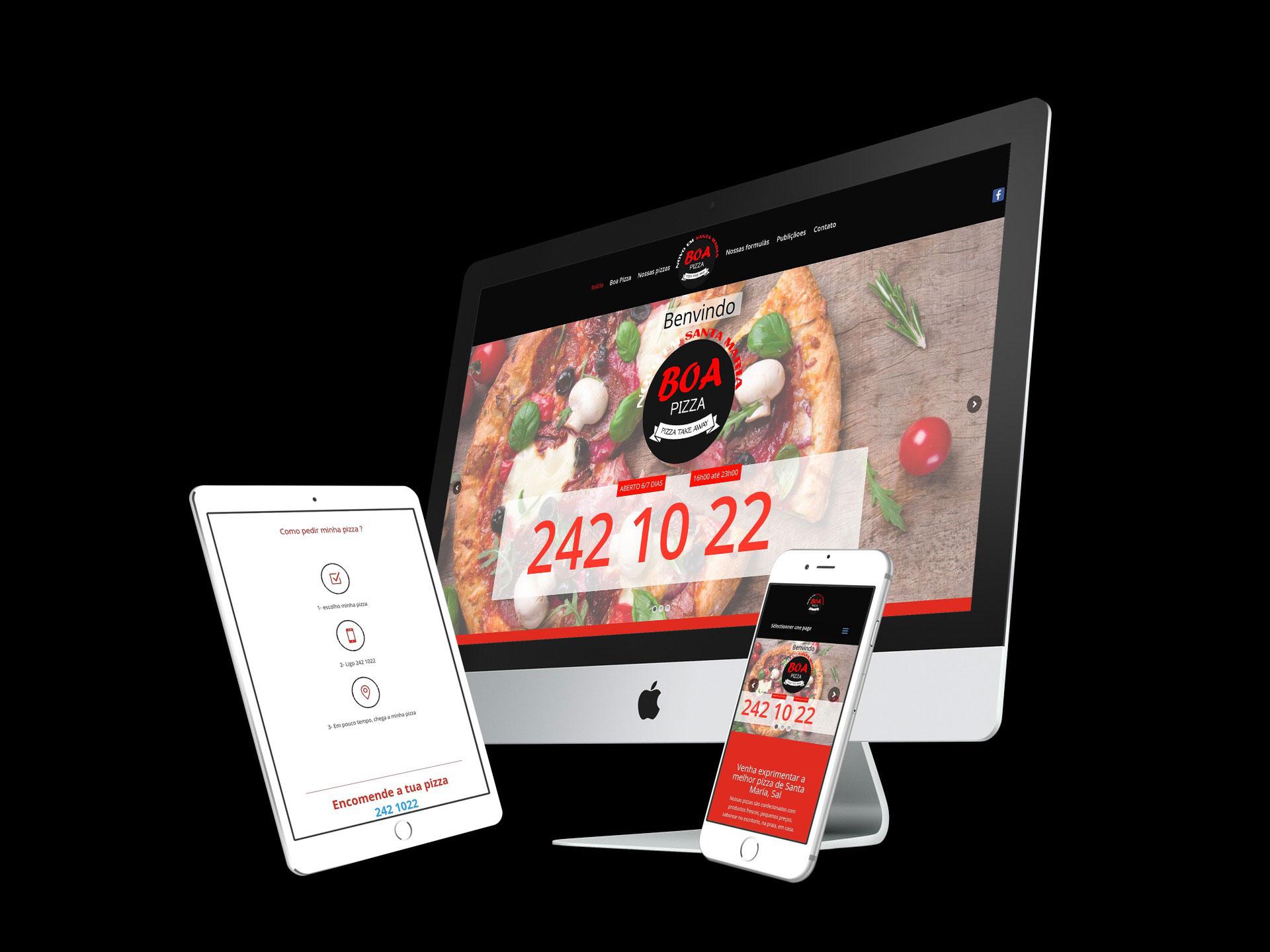 image site vitrine pizzeria