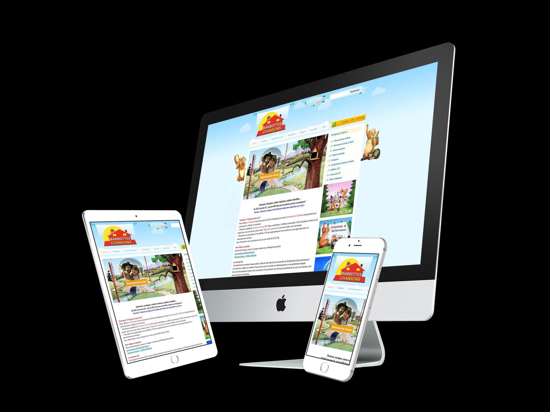 image site ecommerce versini
